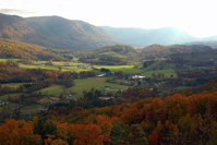 Appalachia fall foliage
