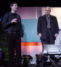 Jim Buckmaster and Craig Newmark of Craigslist