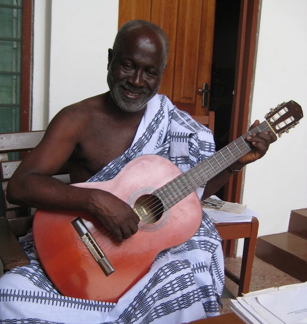 Ghana Speaks (IV):     and Koo Nimo plays guitar and sings