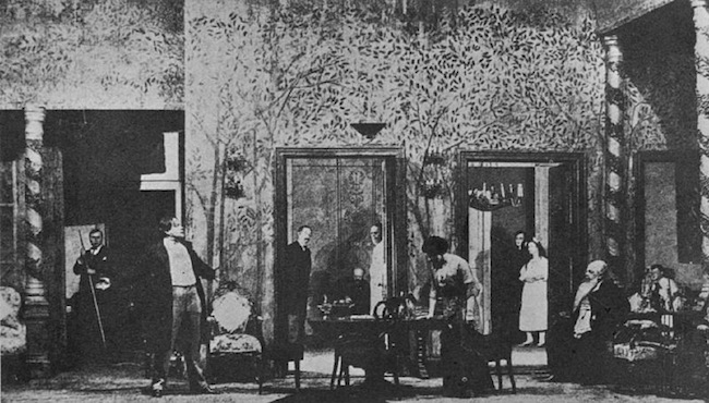 """The Cherry Orchard"" performed for the first time at the Moscow Art Theatre, January 17, 1904"