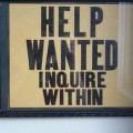 Help Wanted: Department of Revenue