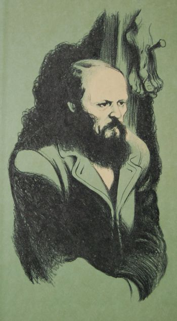 Fyodor Dostoyevsky (1821 - 1881) by his great illustrator Fritz Eichenberg (1901 - 1990)