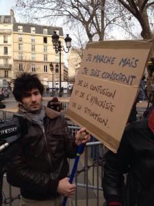 Protestor photo