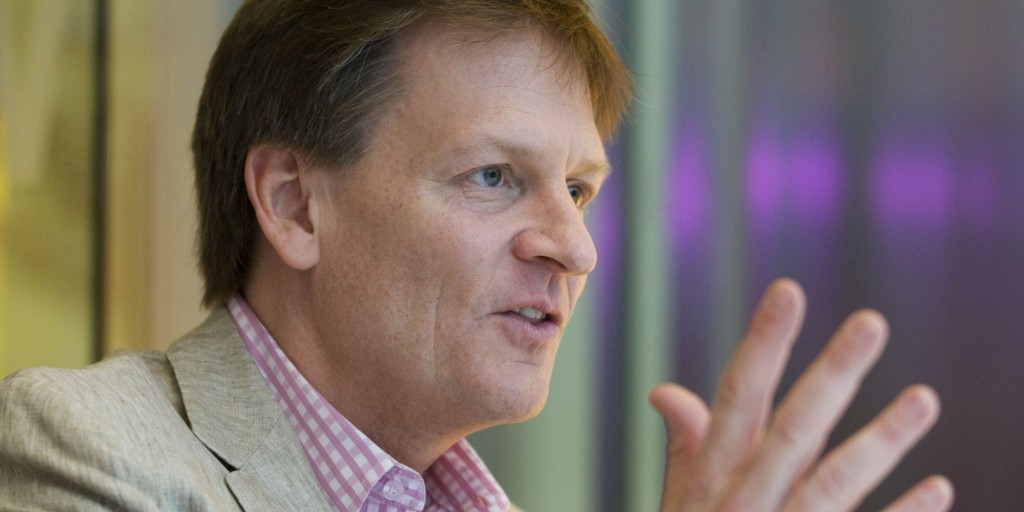 Author Michael Lewis Interview