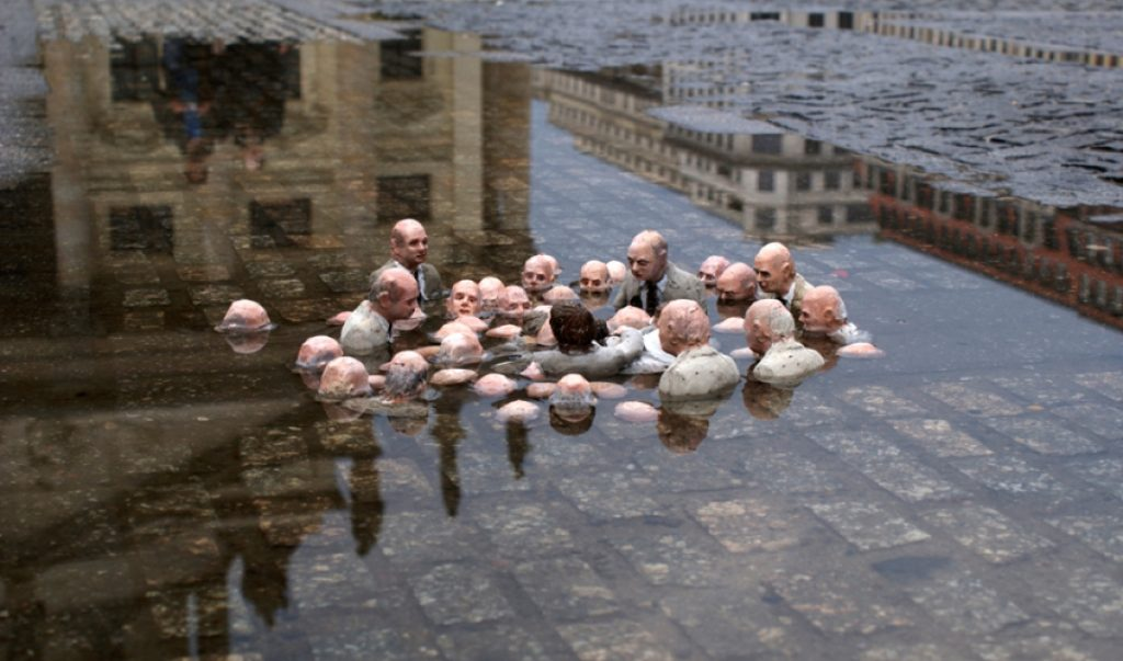 Politicians Discussing Climate Change