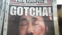 New York Post cover of Zarqawi